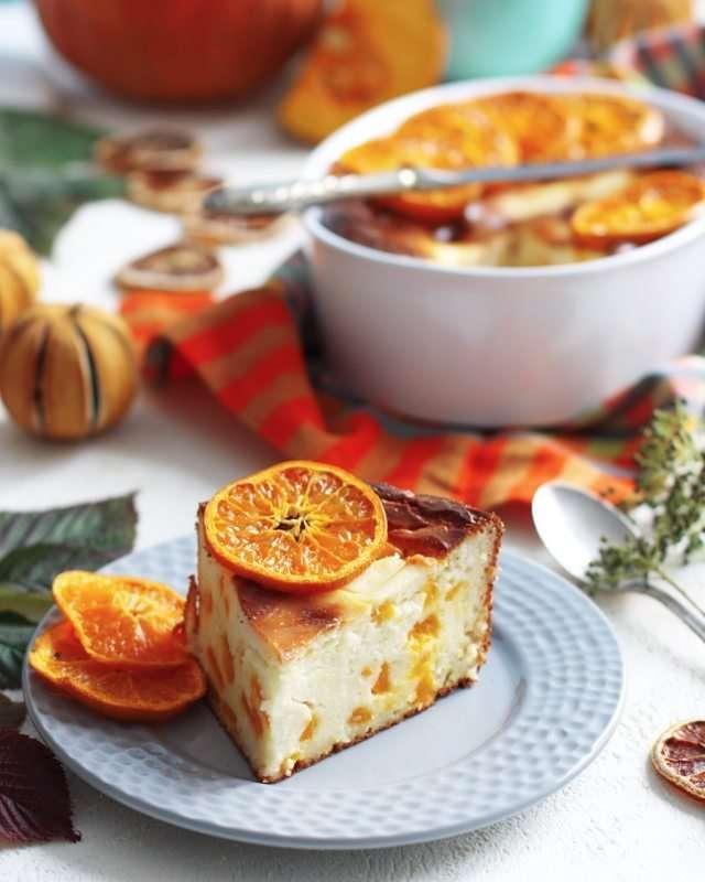 Завтрак, ужин и полезный перекус: готовим творожную запеканку с тыквой