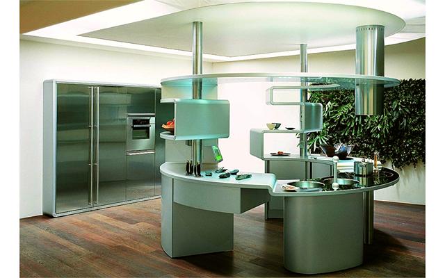 Необычные кухонные гарнитуры