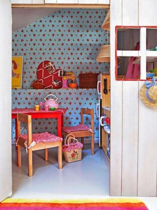 Детский домик - мечта любой девочки