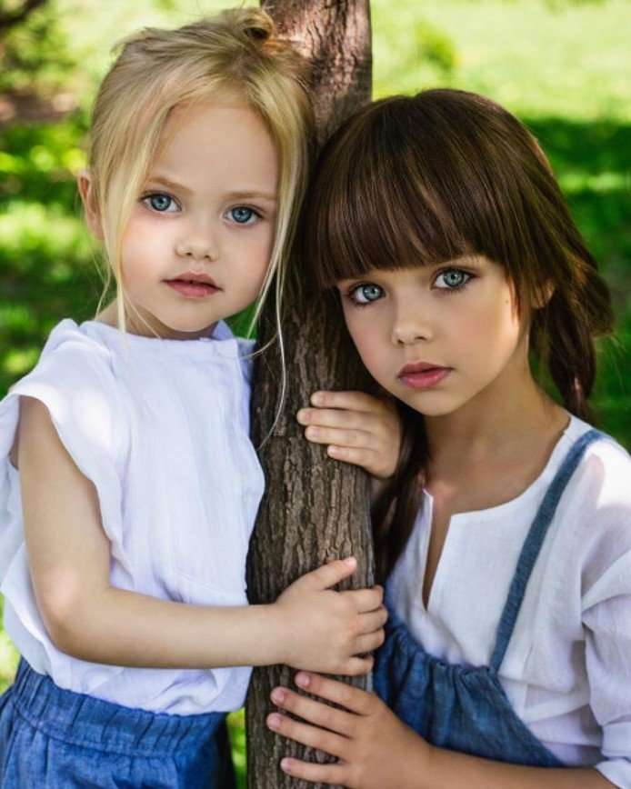 4-летняя красавица Виолетта Антонова может составить конкуренцию Насте Князевой