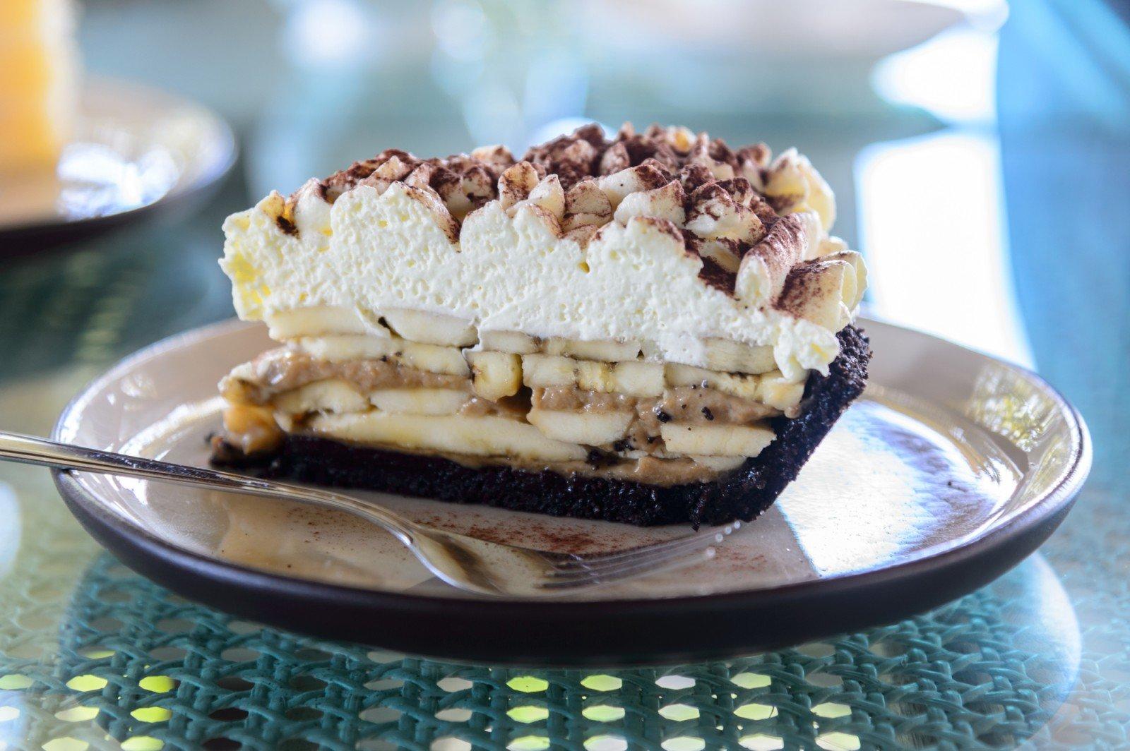 Попробуйте английский зимний десерт — пирог «Баноффи»