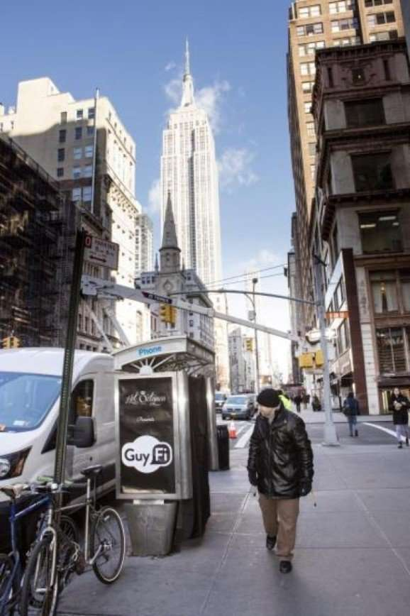 На Манхэттене установили кабинку для мастурбации