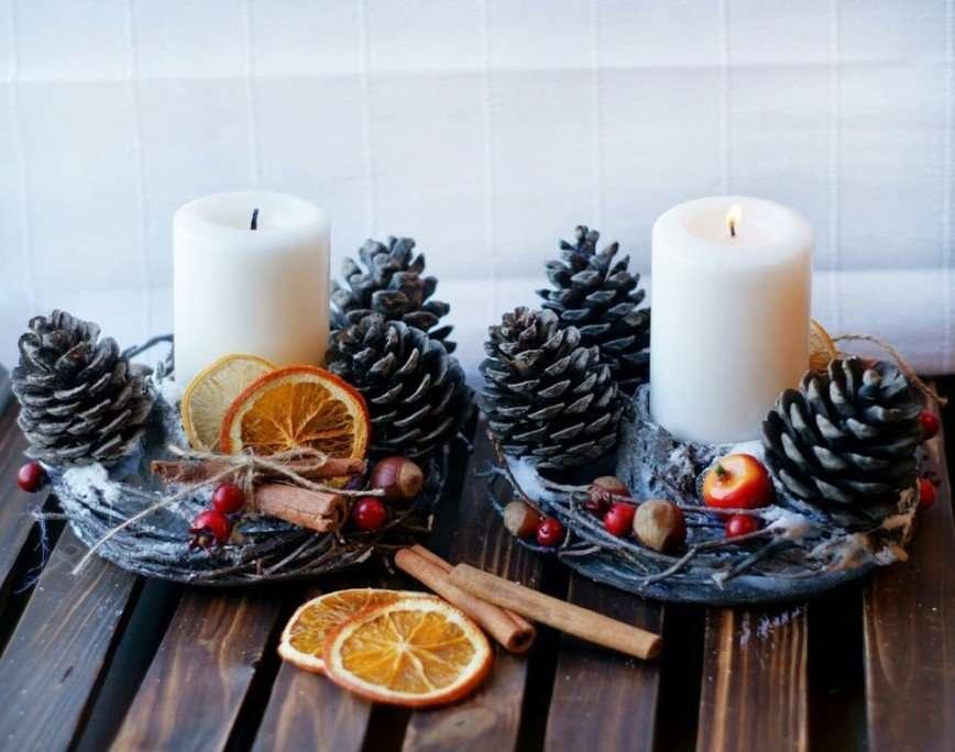 Как бюджетно украсить дом к Новому году