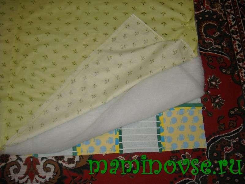 Как сшить стеганое одеяло на синтепоне 94
