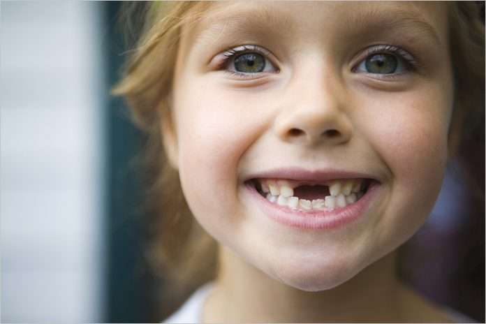 Короткие молочные зубы