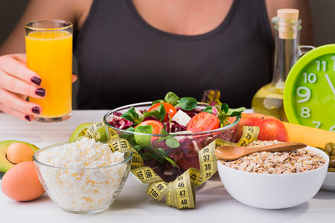 Раціон правильного харчування на кожен день